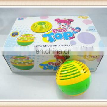 light up spinning top toy,plastic speed spinning ball top toy