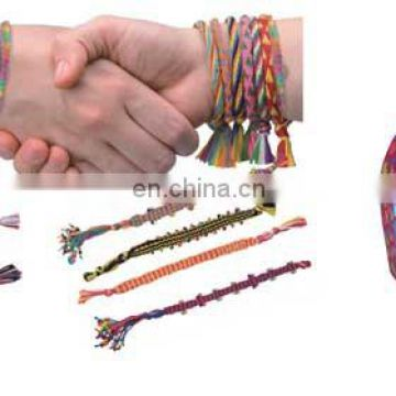 2015 NEW! DIY craft box set-make your own bracelet/bangle with eva knitting machine for kids