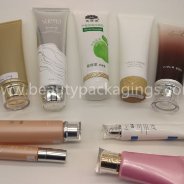 200-500ml Body Lotion Plastic Cosmetic Tube With Flip Top Cap For Skincare
