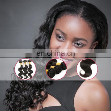 New style good quality virgin remy Black woma hair extensions free sample free shipping