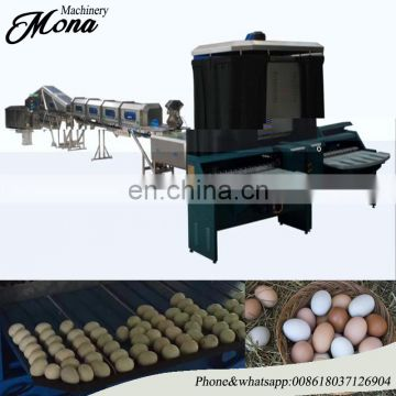 cheap price egg grading separating and selecting machine