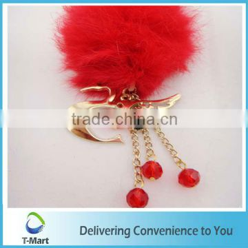 Red Lovely High-Heel Key Chain Pendant design for bags, clothings, belts and all decoration
