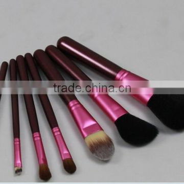 2015 new 7 pcs makeup tool 7pcs make uo brush set goat hair wholesale high quality best price