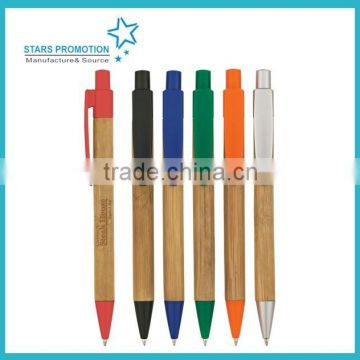 pencil like click ball pen with soft grip
