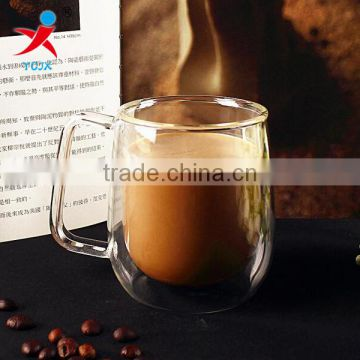 Factory direct wholesale borosilicate double wall glass/tea/coffee