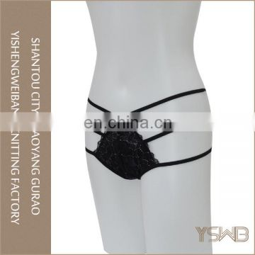 Wholesale factory price lace hipster women sex panty