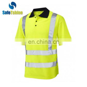 China Reflective Safety polo latest design t-shirt