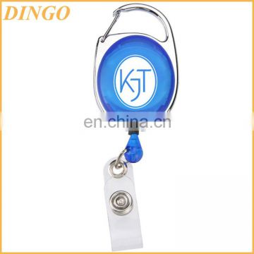 Christmas gifts custom design retractable pretty lanyard with badge holder