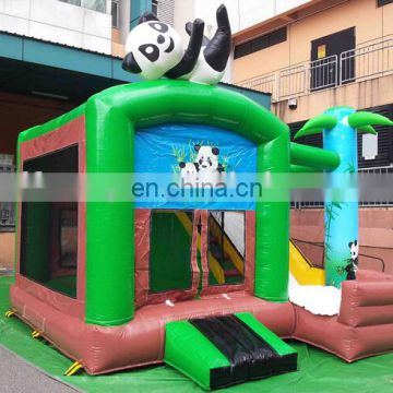 inflatable balloon bouncer slide / inflatable balloon bounce combo / inflatable bounce house with slide