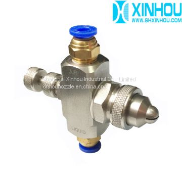 air water atomizing nozzle fogging system for mushroom house
