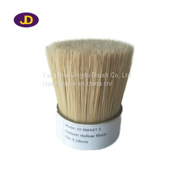 natural white pig bristle imitation synthetic brush filaments