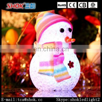 2016 Hot Selling Christmas LED Light Beautiful Snow Man For Sale