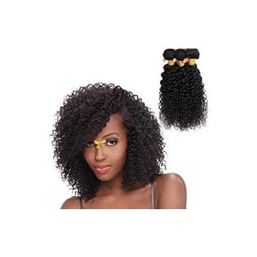 High Quality Brazilian Tangle Free Brazilian Curly Human Hair Mixed Color 14 Inch Reusable Wash