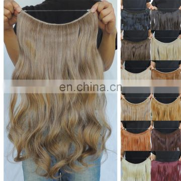 Hot sale!!!China factory double drawn weft thick soft brazilian straight hair weave bundles halo hair extensions