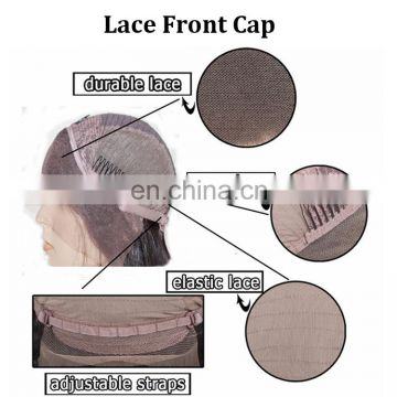 Natural Black Straight Lace Wig With Side Bangs Unprocessed Wigs Human Hair Online Beat Indian Women Straight Lace Front Wig