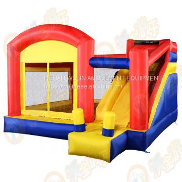 Inflatable bounce castle air castle /jumping house for kids and family