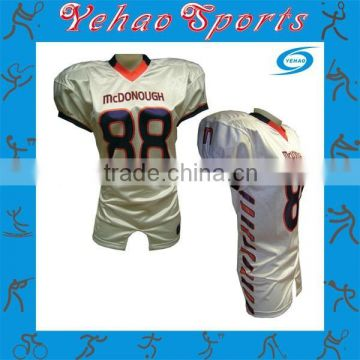 Sublimation football JERSEY/Top Quality Sublimated American Football Jersey/Personalized football Uniforms
