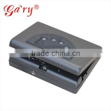 Wholesale- MD500 Micro Vault Digital electronic Jewelry Car gun pistol portable security storage steel mini Safe Box