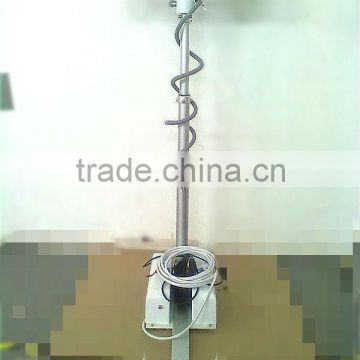 Roof-mounted light tower with camera/telescoping light mast