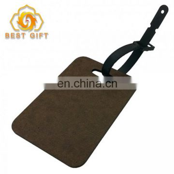 High quality funny custom luggage tag with low price