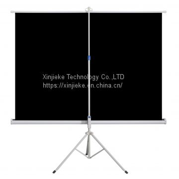 Hot Sale 4:3 / 16:9 Format Outdoor Portable Tripod Projection / Projector Screen