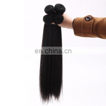 Good Feedback Wholesale Price Brazilian hair Virgin Human hair weave straight hair