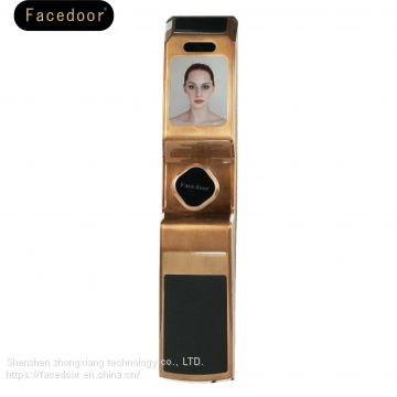 Face door automatic face recognition lock, zhongxiang smart home