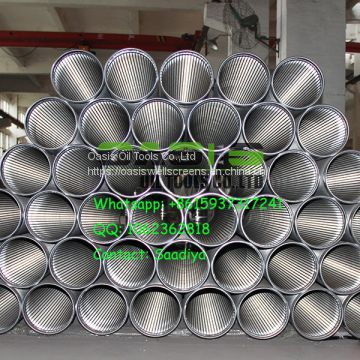 304L stainless steel V wire shape Johnson screens