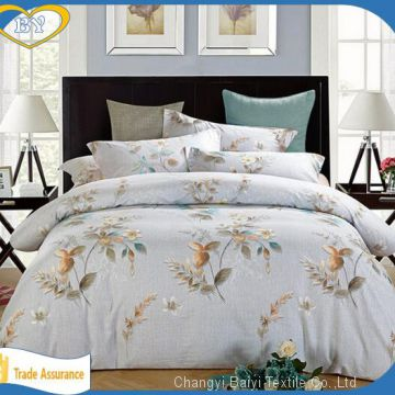 High quality custom printing 100% polyester wholesale bed sheet fabric in rolls