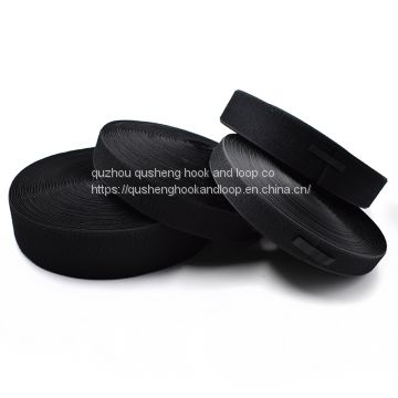 80% nylon 20% polyester hook and loop velcro tape for garment industry