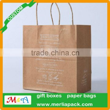 10Pcs Dots Kraft Paper Gift Bag With Recyclable Handle Loot Bags Tote Christmas