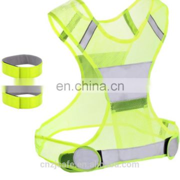 safety belt road safety running equipments hi vis reflective tape
