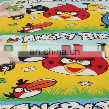 Multicolor Cartoon Double Bedsheet With 2 Pillow Covers