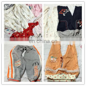 manufacturer wholesale used clothing childrens baby clothes set