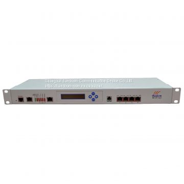 16*E1 + 4* Ethernet Fiber Multiplexer With LCD Management