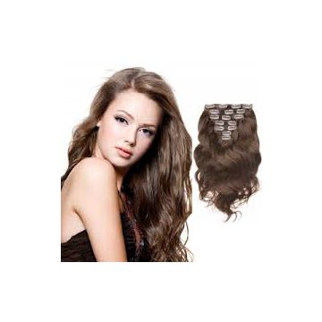 Soft Synthetic Hand Chooseing  Hair Extensions Shedding free