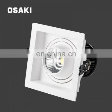 Indoor lighting fire rated mini recessed square 30w cob down light