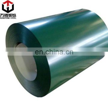 Factory price ppgi color coated galvanized steel coil for Malaysia