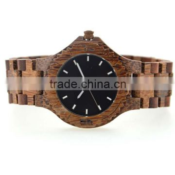 2016 New style wooden watch for men's , cheap price and healthy materials