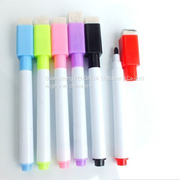 Cheap Magnetic Whiteboard Marker Pen with an Eraser