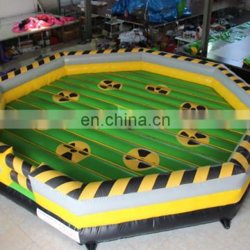 PVC type inflatable wipeout games for sale HT011