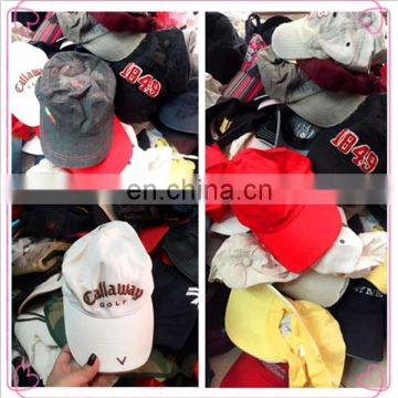 good quality Fashion used hats and caps grade good used hats