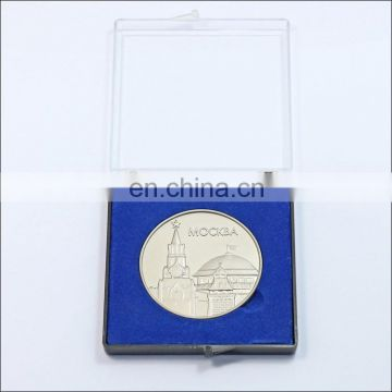 cheap Russia gold and silver custom souvenir metal coins set