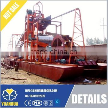 Iron ore selecting ship diesel engine driven mineral processing machine