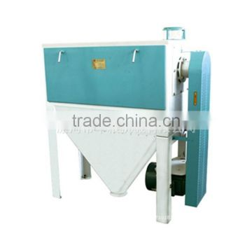 Mini automatic cleaning Spiral brush machine wheat for grain surface cleaning