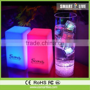 liquid active party glasses for party or celebralation