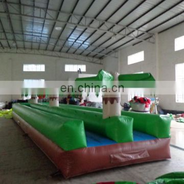 High quality giant tropical inflatable water slide n slip for sale