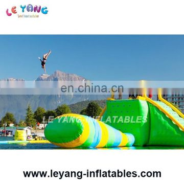 Water Games Floating Inflatable Water Jumping Bag Used On Lake