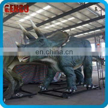 Playground Equipment Handmade Natural Size Fiberglass Dinosaur