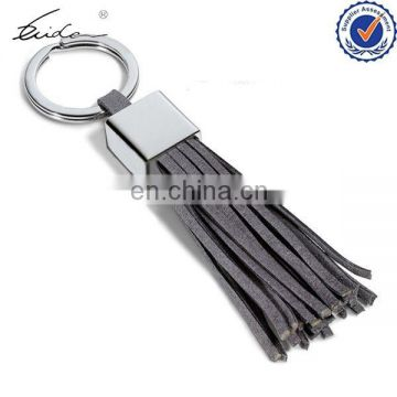 2015 NEW POPULAR ITEM HIGH QUALITY LEATHER KEYCHAIN TASSEL